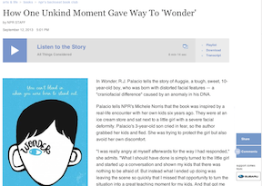 Wonder NPR Podcast link